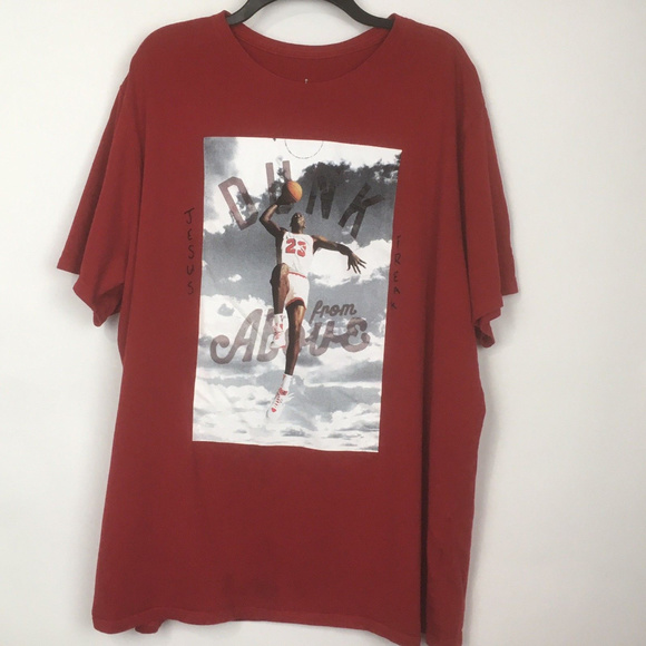 055f7ba5ae9 Jordan Shirts | Air Dunk From Above Jumpman Shirt Diy | Poshmark